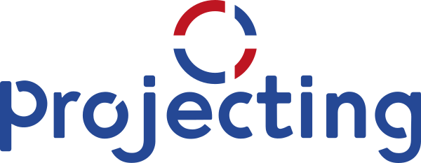 Projecting logo