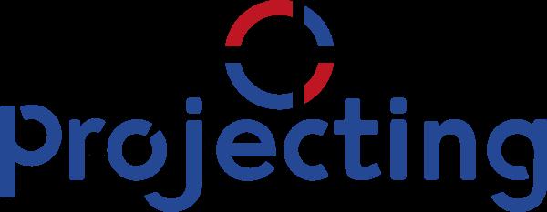 Projecting logo