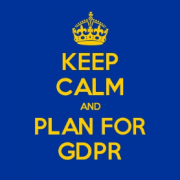 Keep Calm and Plan for GDPR